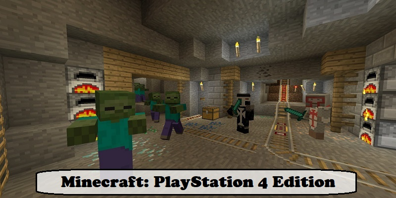 Minecraft PlayStation 4 Edition - PS4 Games for Kids