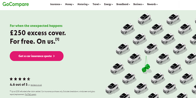 GoCompare - best insurance comparison sites