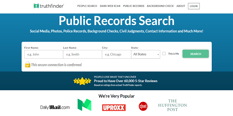 Truthfinder Top People Search Engine