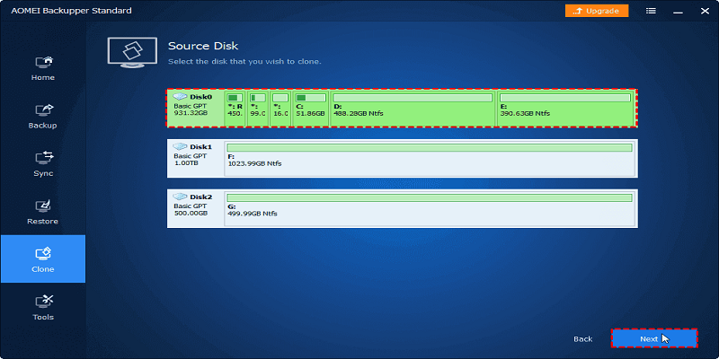 Clone With Free Disk Cloning Software